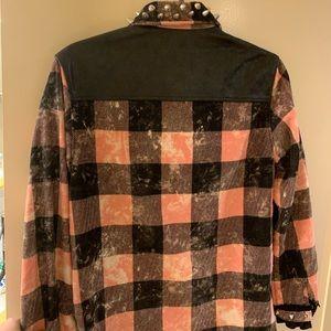 Coach Tops - Coach 1941 studded plaid top